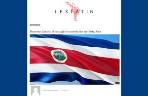 Lázaro, el proyecto para reinscribir las Sociedades disueltas por Impuestos de Ley