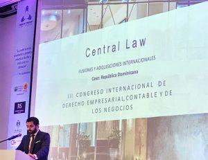 CENTRAL LAW, en el 3er Congreso Internacional del Derecho Empresarial, Contable y de los Negocios de Colombia