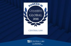 Chambers Global 2018 distingue a CENTRAL LAW