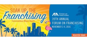 CENTRAL LAW attends the 39th Annual Forum on Franchise