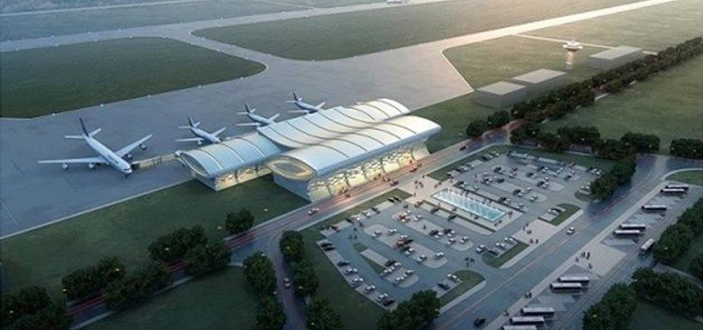 Progress in the construction of the new airport in Honduras