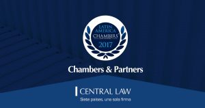 CENTRAL LAW, nominada por Chambers and Partners a mejor firma regional