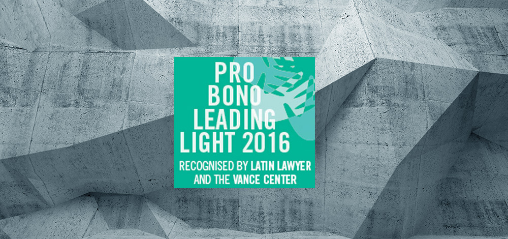 Pro Bono work is a part of the Corporate Social Responsibility