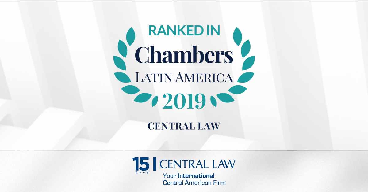Chambers Latin America, 38 accolades for CENTRAL LAW