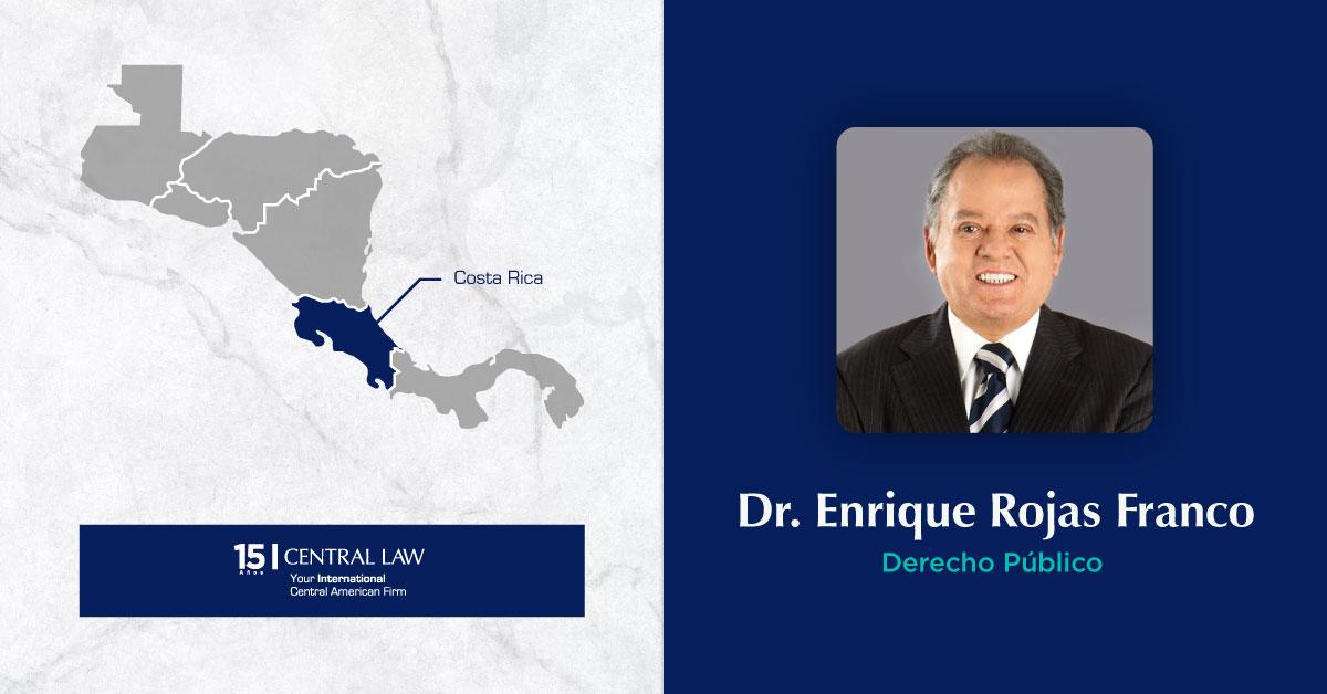 Nuevo socio en CENTRAL LAW refuerza el área de Derecho Público