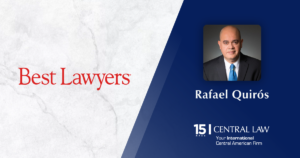 Rafael Quirós included in the Fifth edition of The Best Lawyers