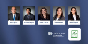 Abogados de CENTRAL LAW nominados en LACCA approved 2020