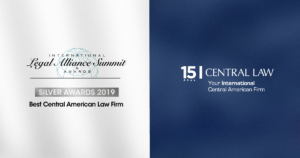 CENTRAL LAW wins Silver Award as Best Central American Firm