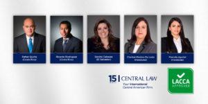 Abogados de CENTRAL LAW nominados en LACCA approved 2020