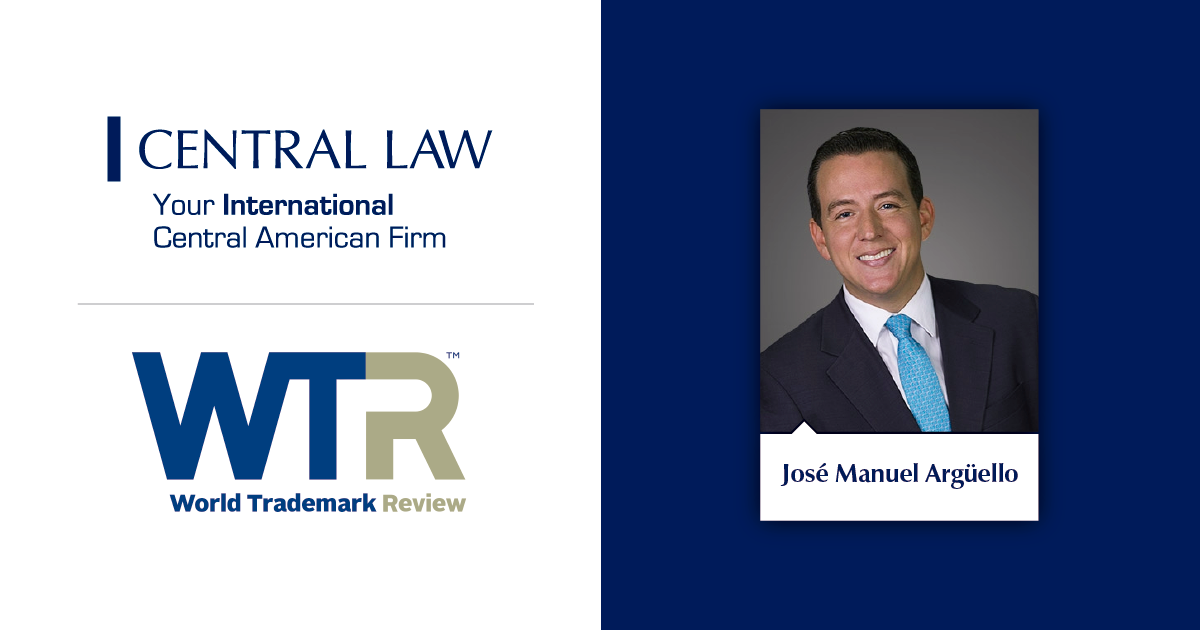 CENTRAL LAW is recognized by WTR 1000 for its Intellectual Property work