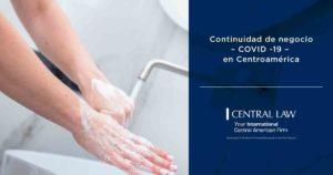 Continuidad de negocio – COVID -19 en Centroamérica